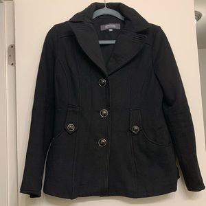 Kenneth Cole Reaction Black Peacoat Small